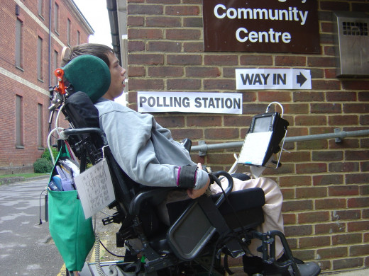 Voting from your wheelchair