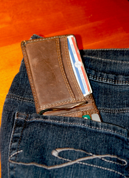 Your Wallet from your jeans