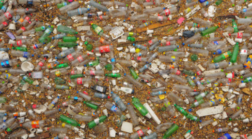 Plastic, that ubiquitous material of contemporary life is made from fossil fuels for which the developed world goes to war to obtain. Waste plastic now pollutes every ocean on Earth.