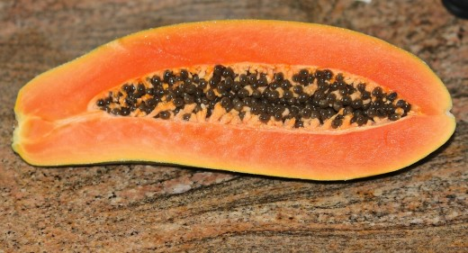 Papaya seeds can be used in place of pepper