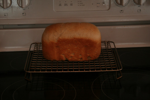 The Finished Barley Bread