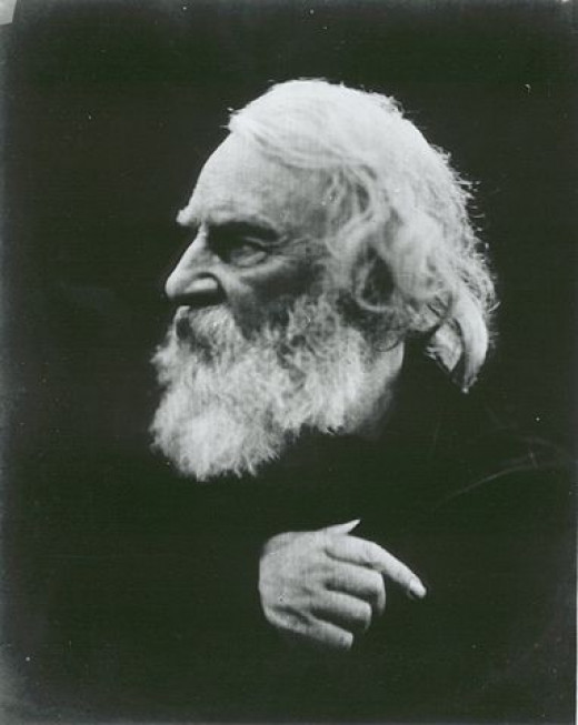 Henry Wadsworth Longfellow by Julia Margaret Cameron