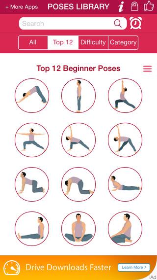 Yoga iPhone App