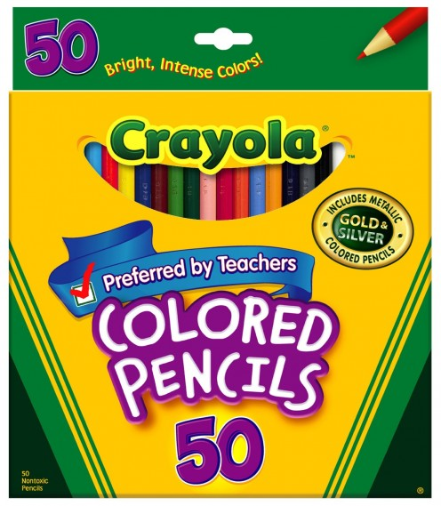 Crayola Colored Pencils, suitable for kids of all age