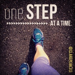 Take each resolution one step at a time.  Don't overwhelm yourself with trying to accomplish too many goals at once.
