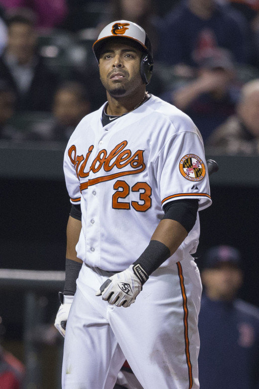 Nelson Cruz has good power numbers, but also has played for Texas and Baltimore in hitter's ballparks.