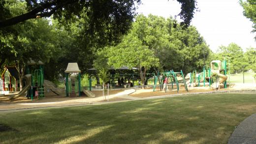 Playground for Katherine Fleischer Park Wells Branch Austin Texas