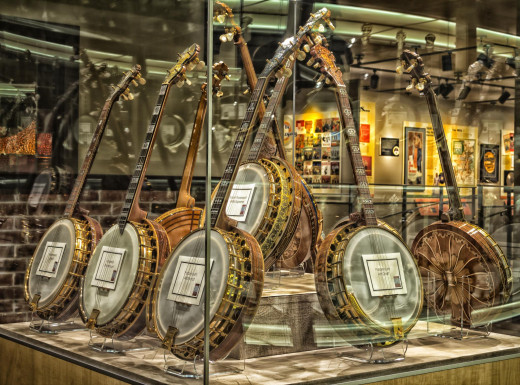 Banjos display