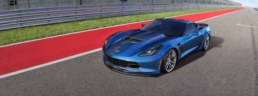 2015 Chevy Corvette Z06 Blue
