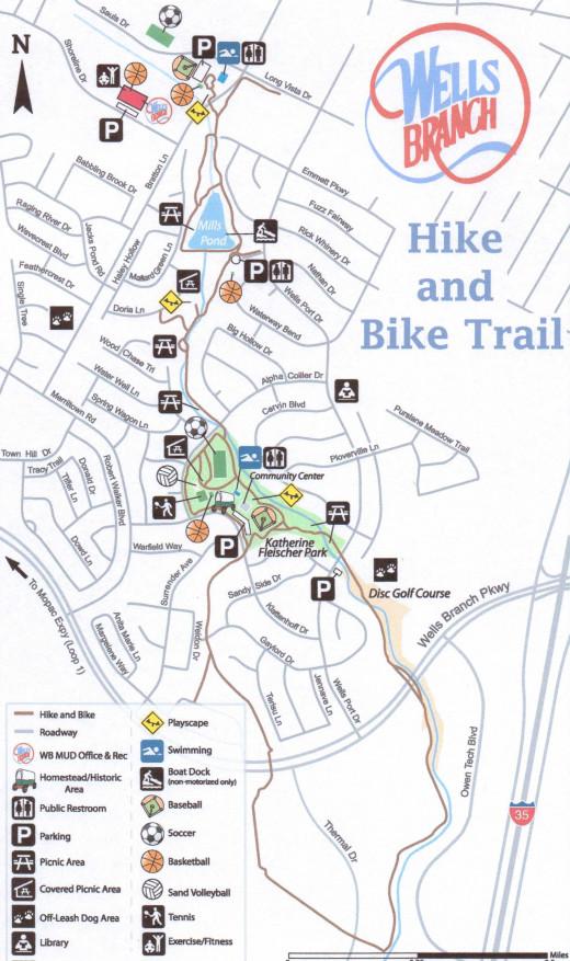 Wells Branch Trail Map Austin TX