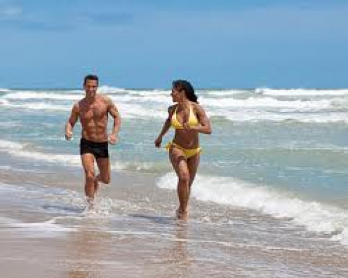 Running is a great way to stay in shape, but do not get married to gain a running partner