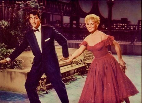 Jeffrey and Ella (Dean Martin and Judy Holliday) met just in time in Bells Are Ringing