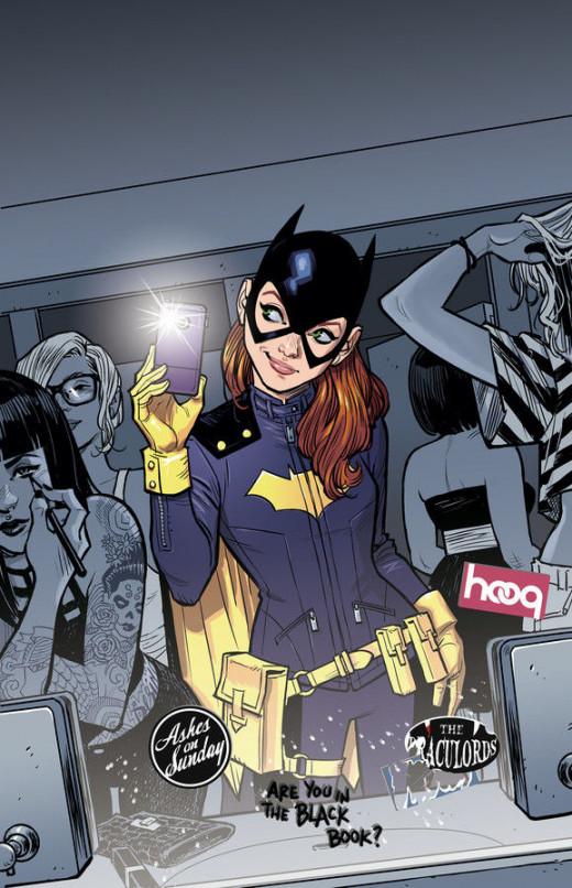Batgirl #35 from DC Comics.  Batgirls new costume recently debuted.