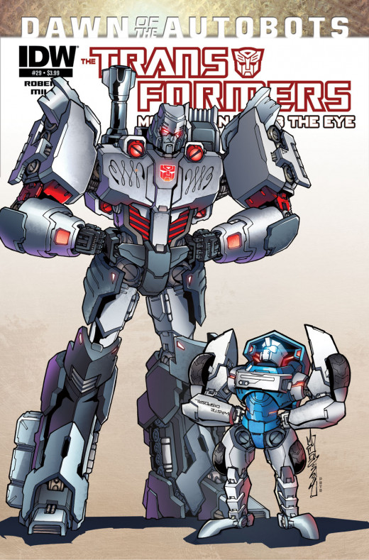 Transformers More Than Meets The Eye #29 from IDW. Megatron is an Autobot, you need to keep up.