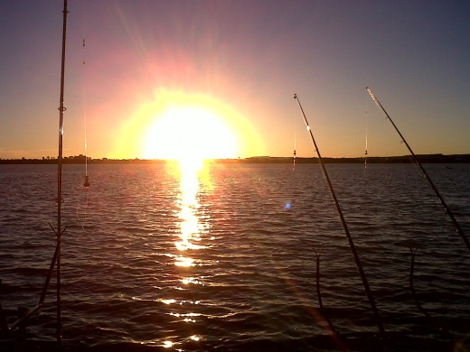 Klerksdorp Dam - a paradise for anglers and water-sport fanatics.