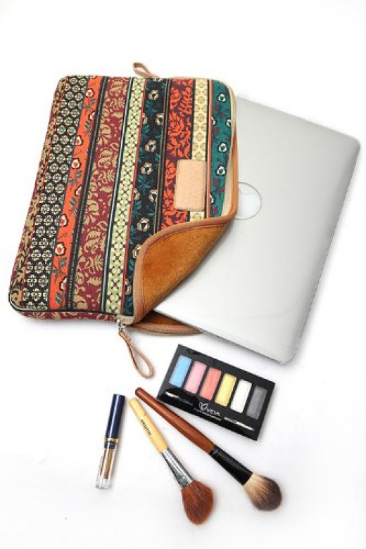 A really cool and chic way to minimize damage to your Apple notebook, the New Bohemian is an attractive and functional cover.  Constructed from neoprene, the sleeve is water resistant, as well as a guard against bumps and scratches.