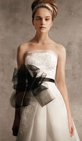 Pre-Owned Vera Wang Wedding Dress--$650 (originally $1028)