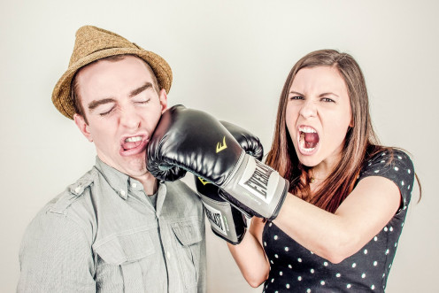 Physical violence in marriage