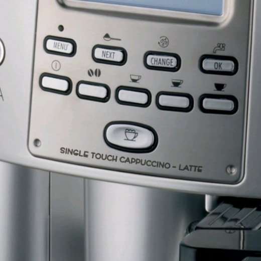The DeLonghi ESAM3500.N Magnifica Digital Super-Automatic offers an excellent grind and brew experience.  The rotary and push button control panel with programmable menu settings is very easy to operate.  This machine produces excellent beverages.