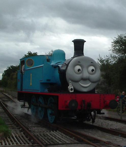 Thomas the Tank Engine at Bitton Station, Somerset