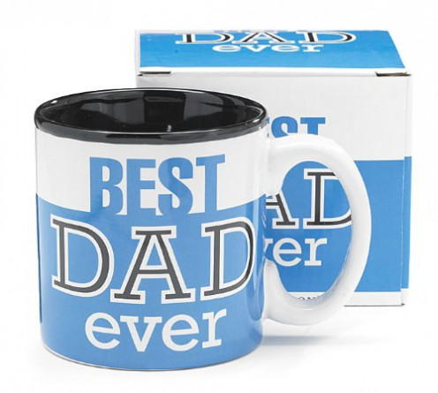 Best Dad ever coffee mug for Father's Day