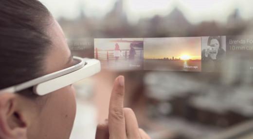 A view through Google Glass