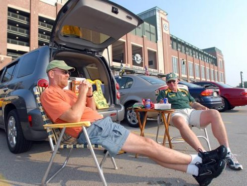 A different type of tailgating