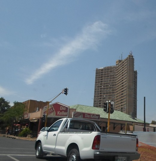 One of only a few high buildings in Bloemfontein
