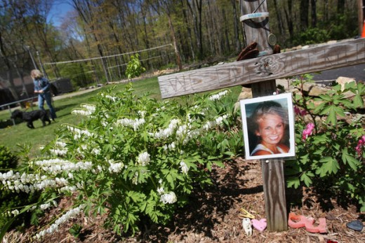 A memorial for Kyleigh