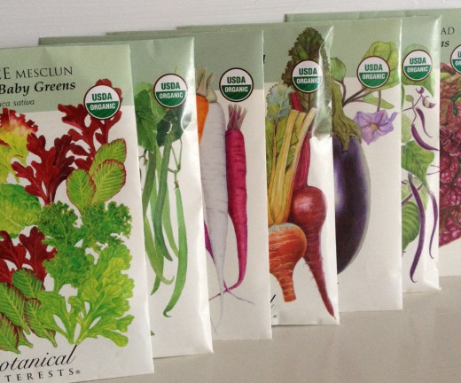 In the United States, look for the USDA Certified seal, like the one on these seed packets
