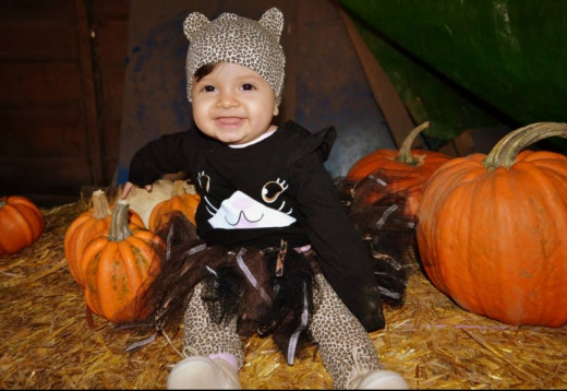 My Precious Angel's First Halloween Costume