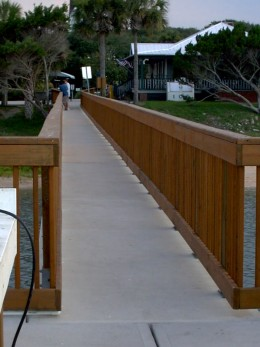 The walkway to our new success...
