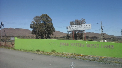 Three Sisters between Colesberg and Beaufort West, Great Karoo, South Africa