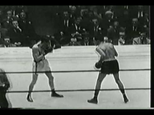 Willie Pep vs. Ray Famechon for the featherweight world championship.
