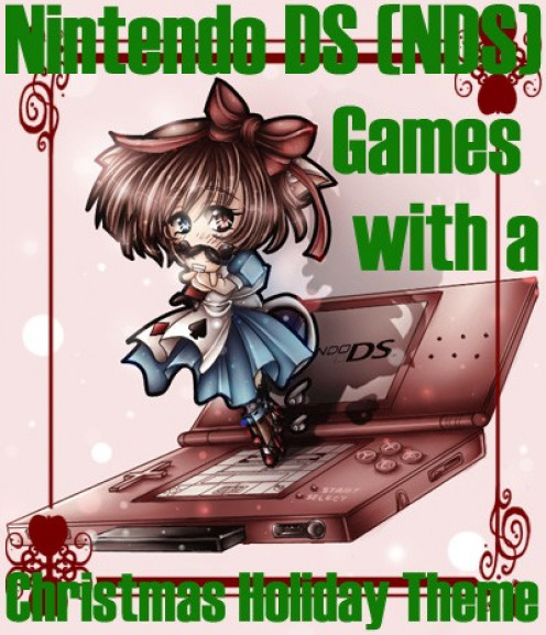 What are some of the holiday-themed Nintendo DS games that you can play during the Christmas season? Why would you want to play these kinds of NDS games?