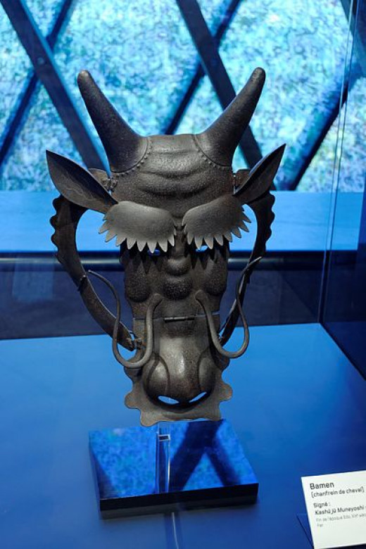 Bamen mask (Long Wang adaptation)