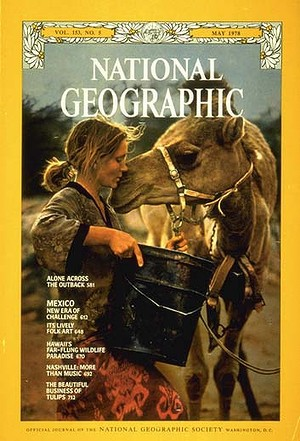 It was the main article in the 1978 issue of National Geographic.
