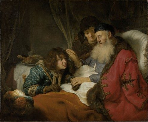 """Isaac Blessing Jacob"" by Govert Flinck - 1637"