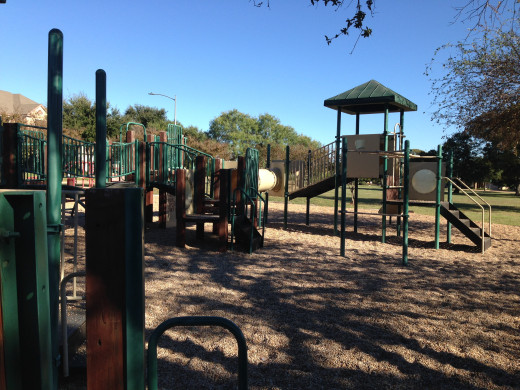 Playscapes at Davis Spring Park (The Trailhead)  Austin Texas