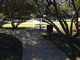 Picnic areas Davis Spring Park (The Trailhead)  Austin Texas