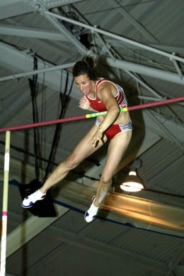 Stacy Draglia at 2004 USATF Indoor Track and Field Championships
