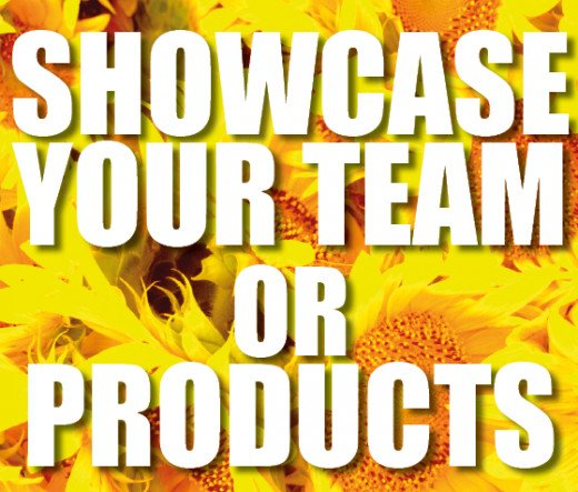 Showcase your team or products