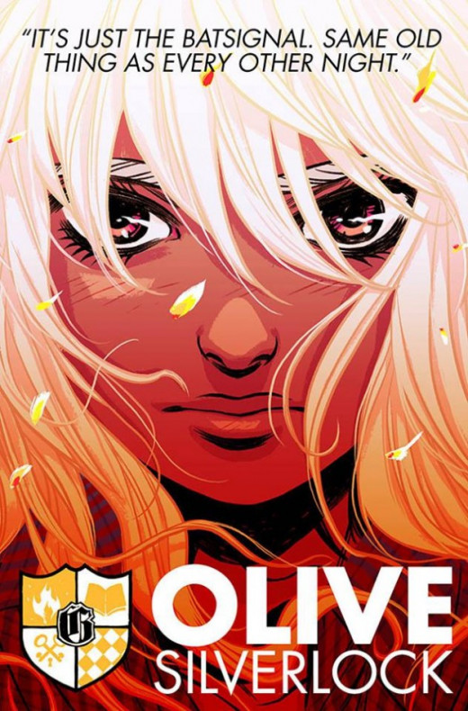 Olive Silverlock, the mysterious main character of Gotham Academy.