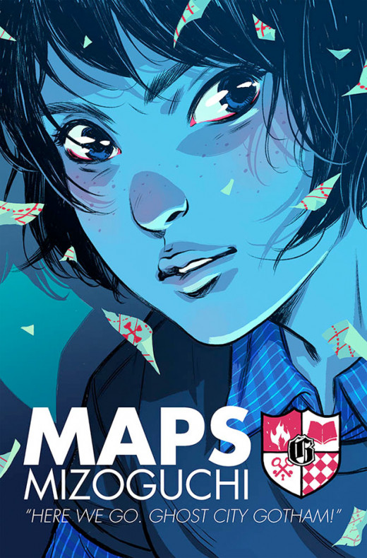 Maps Mizoguchi is a newbie at Gotham Academy, with a past of her own.