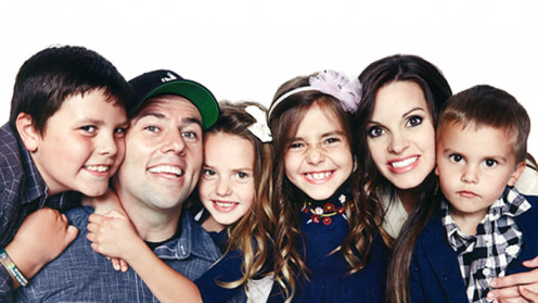 2013 family picture of the Shaytards.