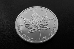 Canadian Maple Leaf 1oz Silver