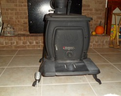 How I Installed My Wood Stove