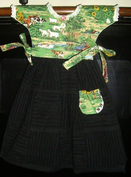 Themed Oven Towel Dresses