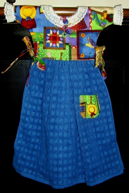 How To Sew A Decorative Oven Door Dress Free Pattern