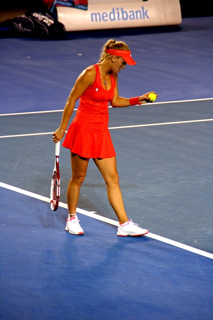 Caroline Wozniacki is a former World No. 1 on the WTA Tour.  The Dane was the first Scandinavian to hold the top ranking position.  Her greatest weapon is probably her two-handed backhand which she often uses to turn defense into offense.